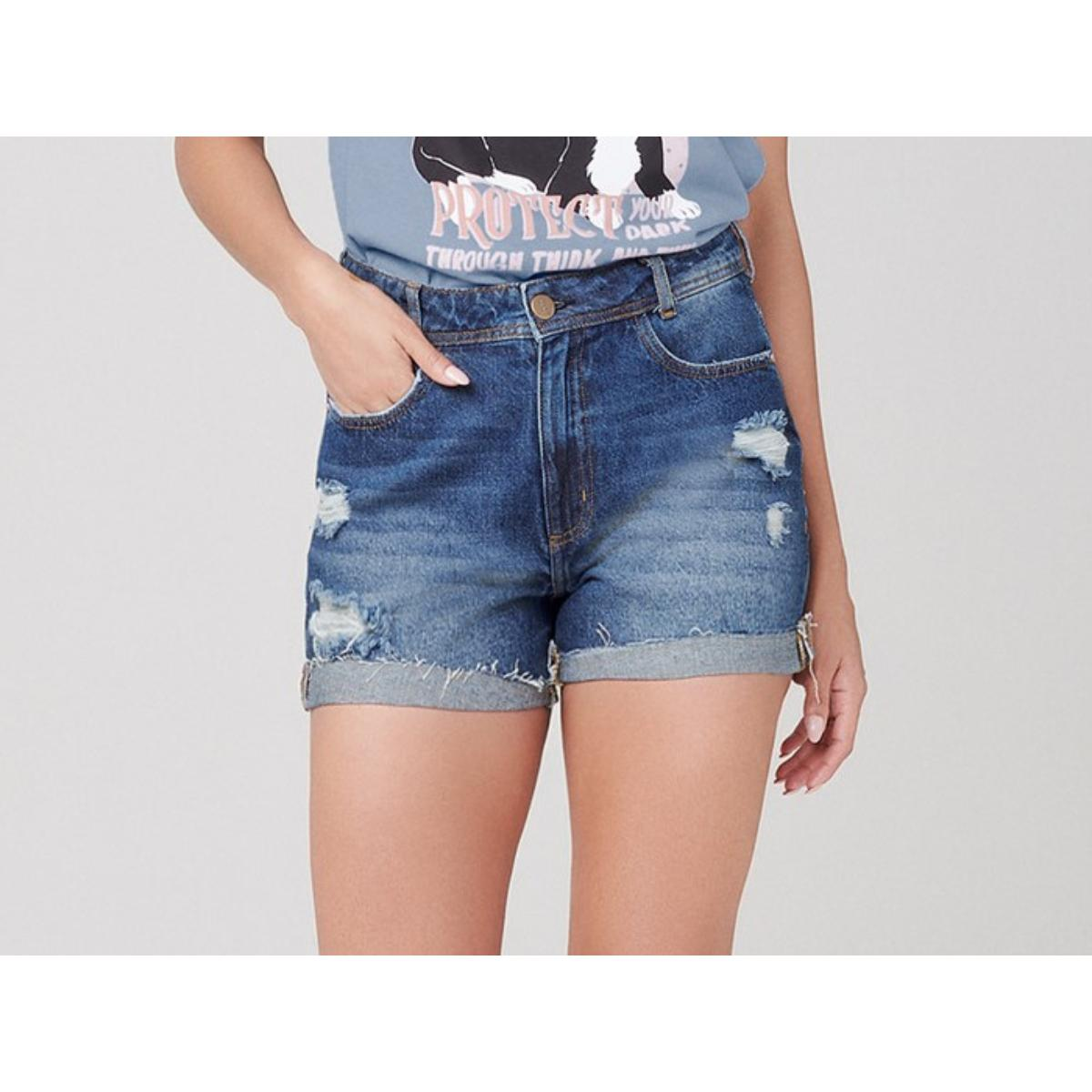 Short Feminino Dzarm Zc4l 1asn  Jeans