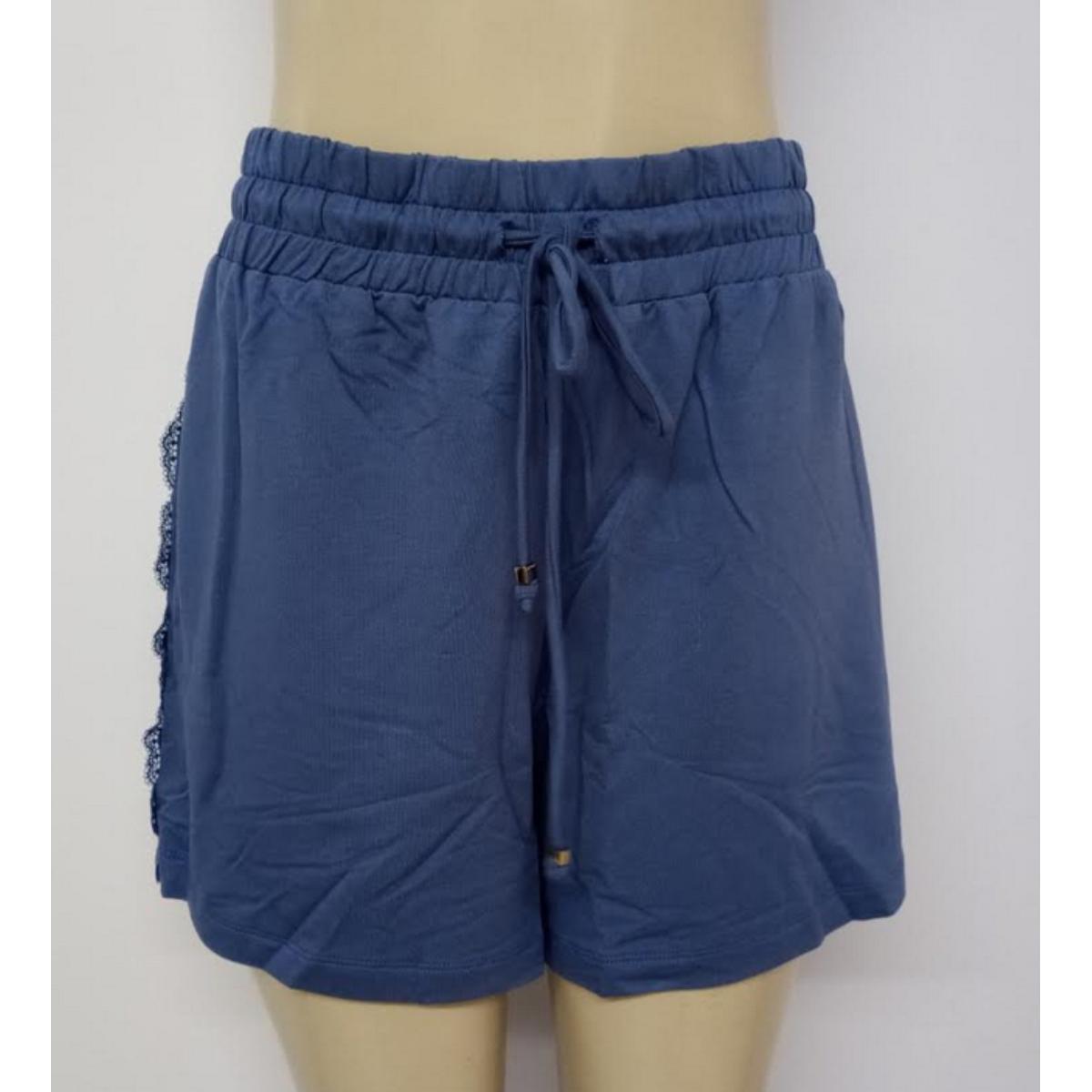 Short Feminino Lado Avesso L114463 Azul Jeans