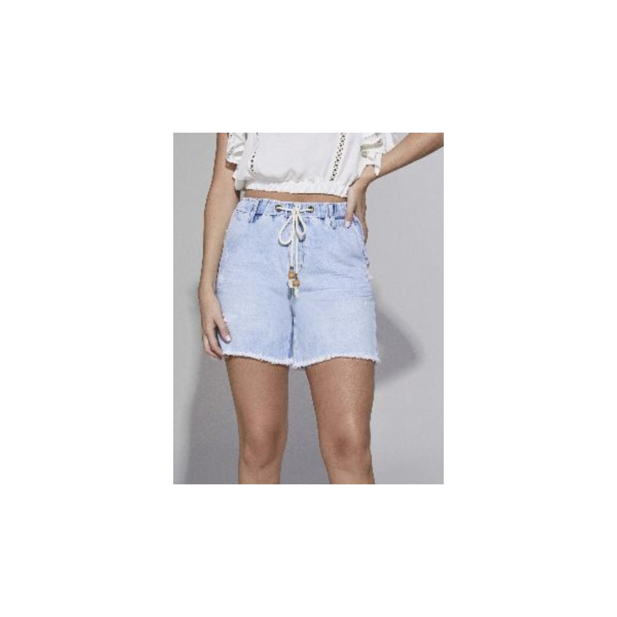 Short Feminino Lado Avesso L114151 Jeans