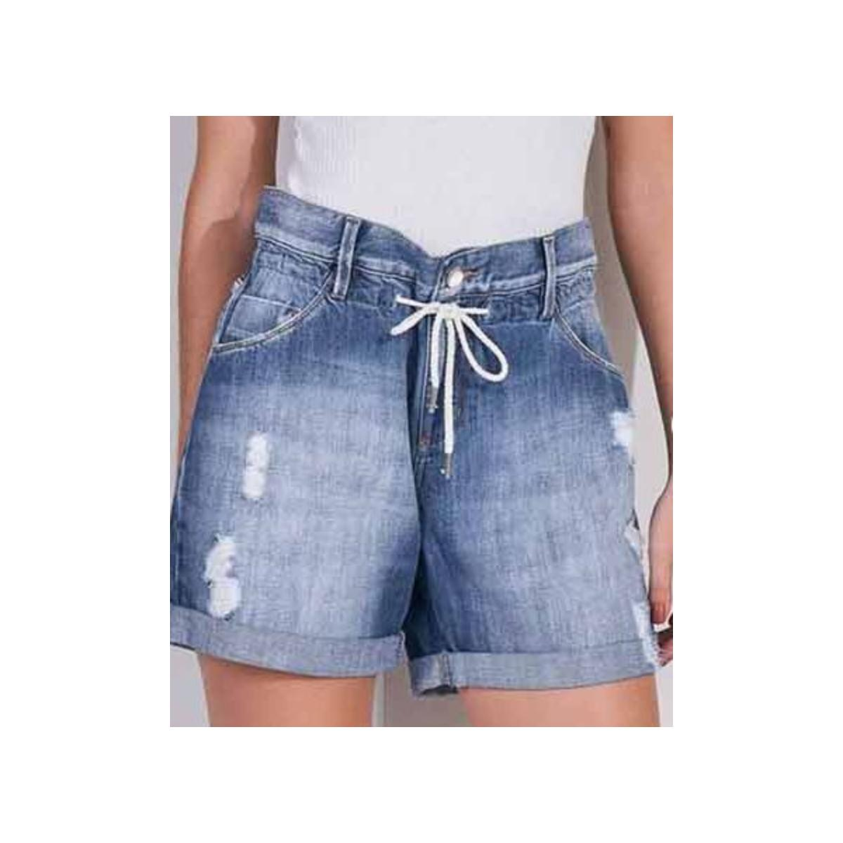 Short Feminino Lado Avesso L113185 Jeans