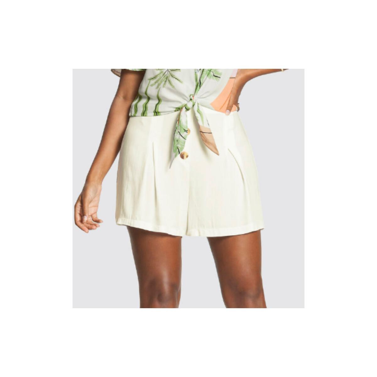Short Feminino Lunender 46547 Off White