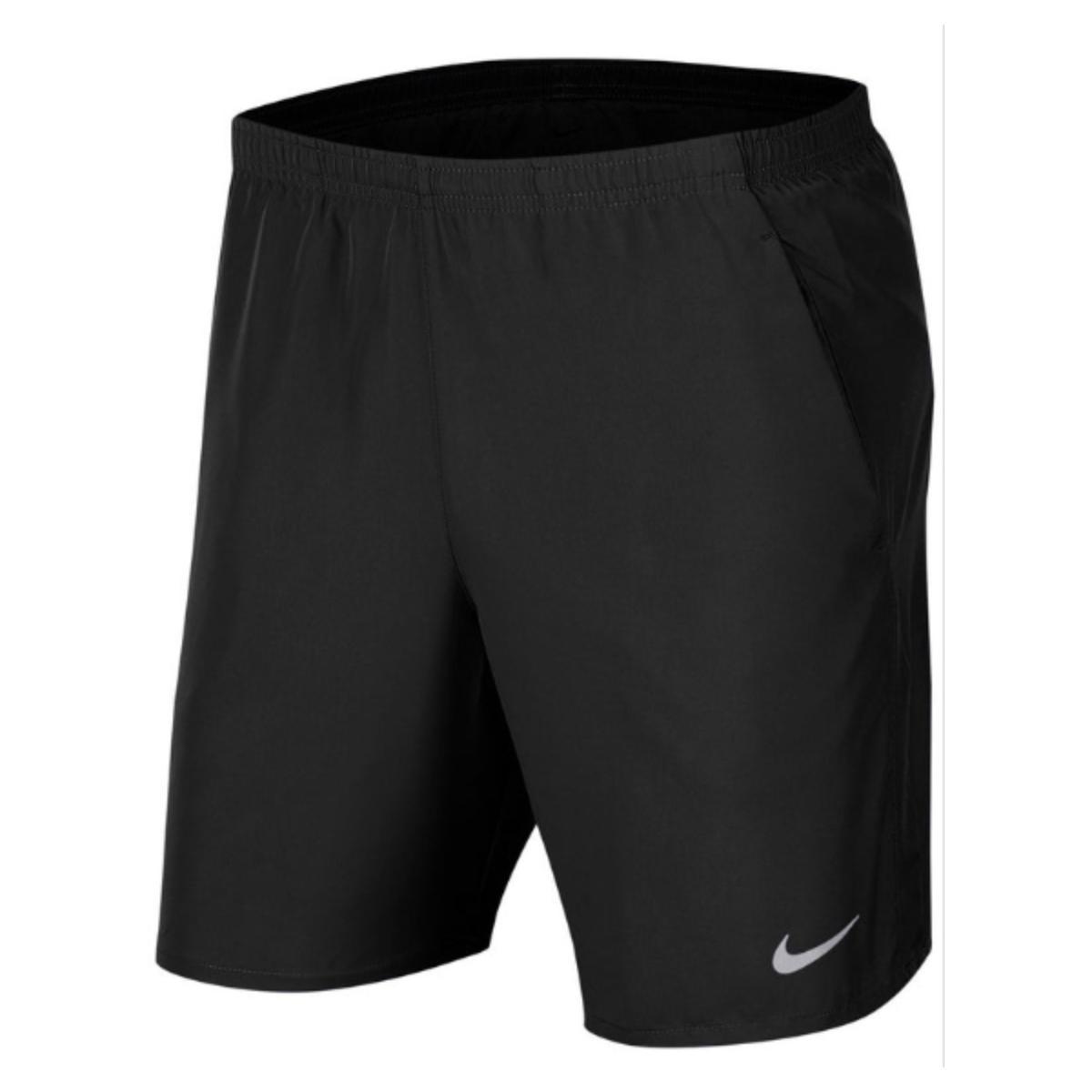 Short Masculino Nike Aj7685-010 Challenger Preto