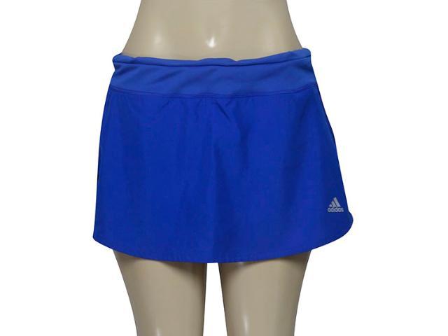 Short Saia Feminina Adidas Aa0636 Resp w Azul