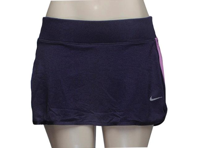 Short Saia Feminina Nike 618274-570 Knit Skirt Lilas