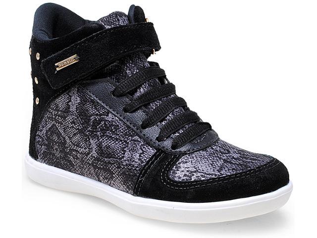 Sneaker Fem Infantil Pampili 403.019.0080 Preto