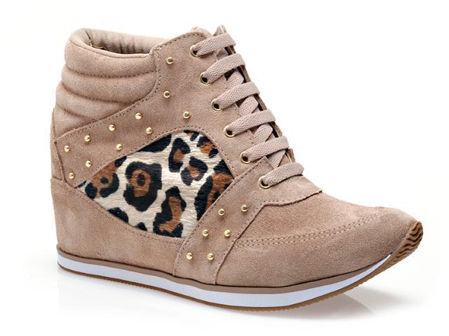 Sneaker Feminino Via Marte 13-17205 Nude