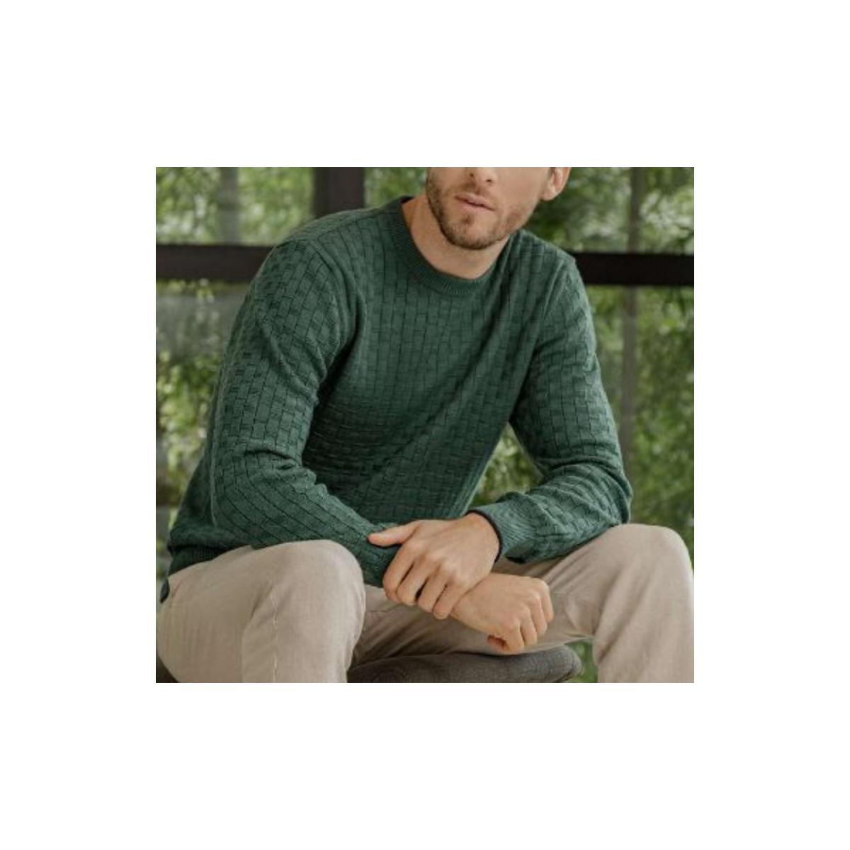 Sueter Masculino Zanatta 8018 Verde/marinho