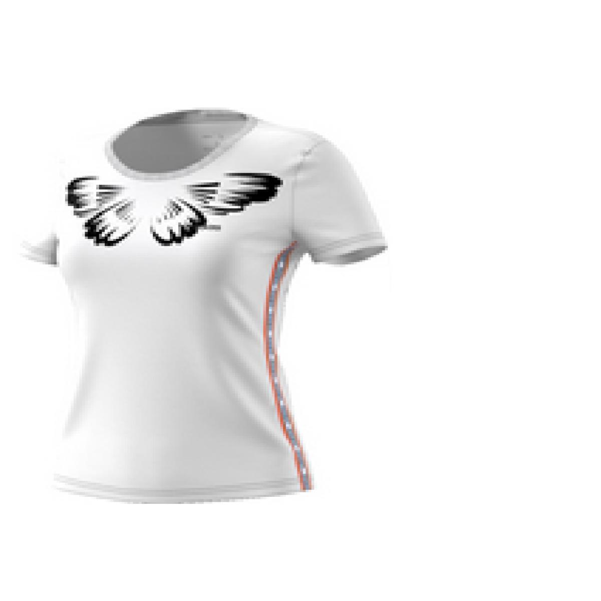 T-shirt Feminino Adidas Ei4830 w Farm p Off White