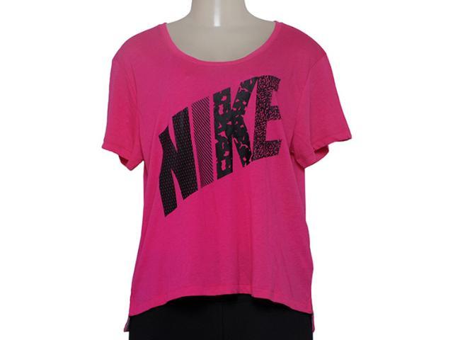 T-shirt Feminino Nike 678956-616 Prep Tee Mixed  Pink