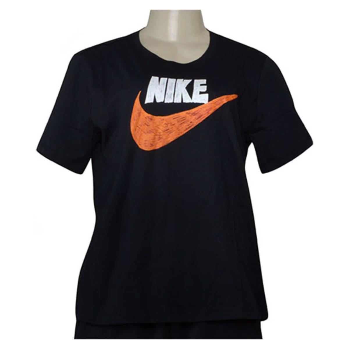 T-shirt Feminino Nike Cj2055-010 Sportswear Preto