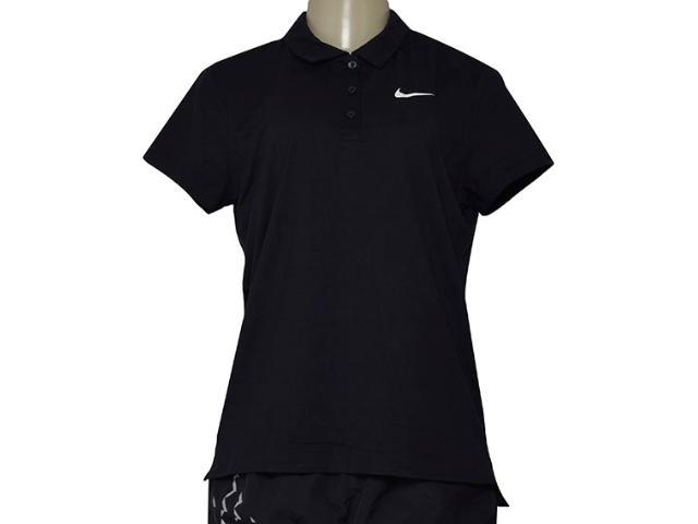T-shirt Feminino Nike 830421-010 w Nkct Pur Preto