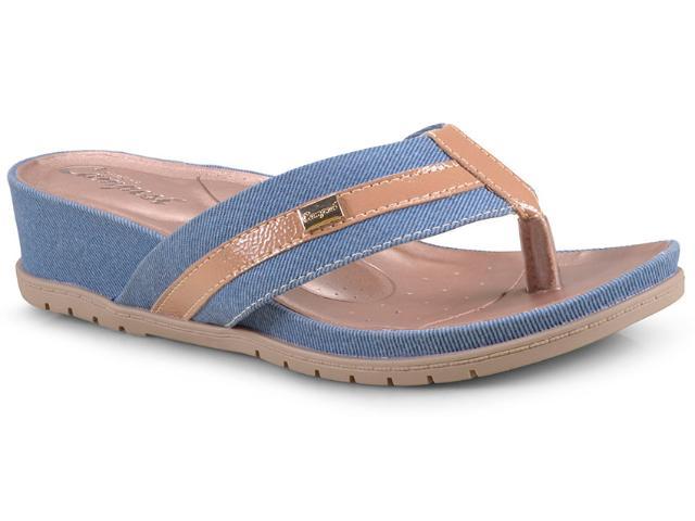 Tamanco Feminino Campesi L6284 Amendoa Jeans