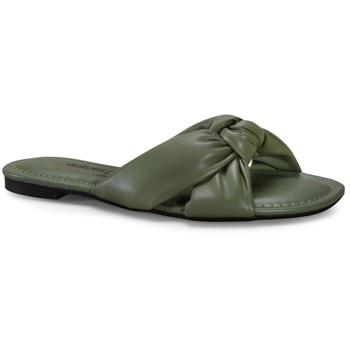 Tamanco Feminino Dakota Z7583 Verde