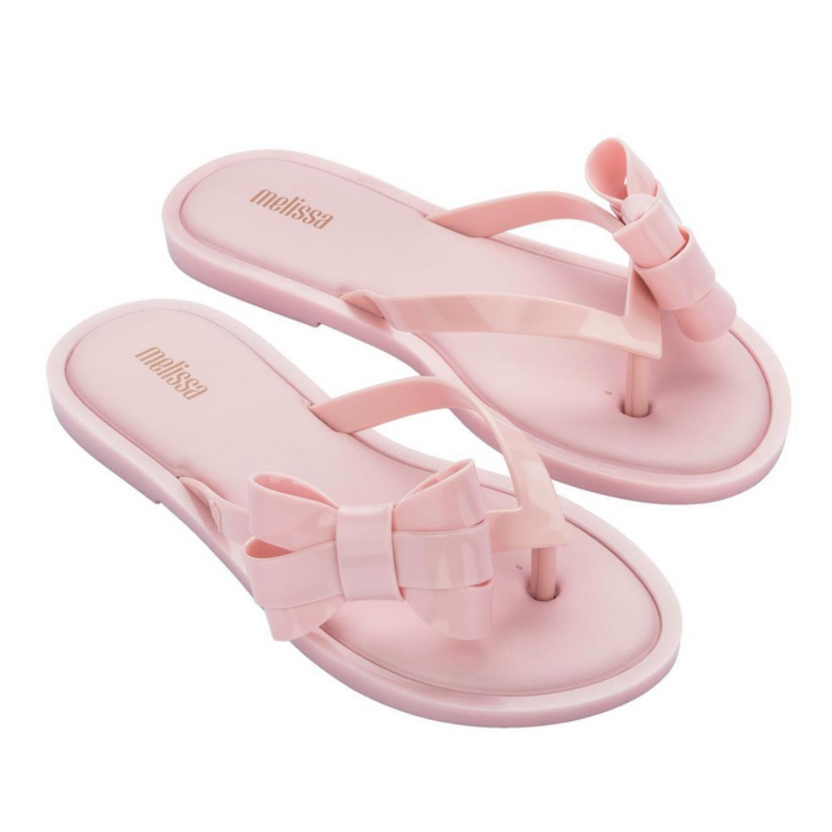 Tamanco Feminino Melissa 33288 50485 Flip Flop Sweet Rosa