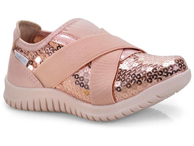 Tênis Fem Infantil Pink Cats W9813 Rose
