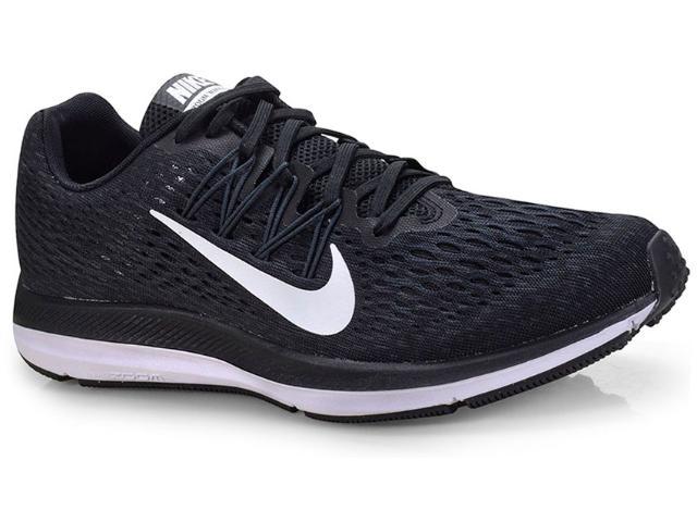 Tênis Masculino Nike Aa7406-001 Zoom Winflo 5 Preto/branco