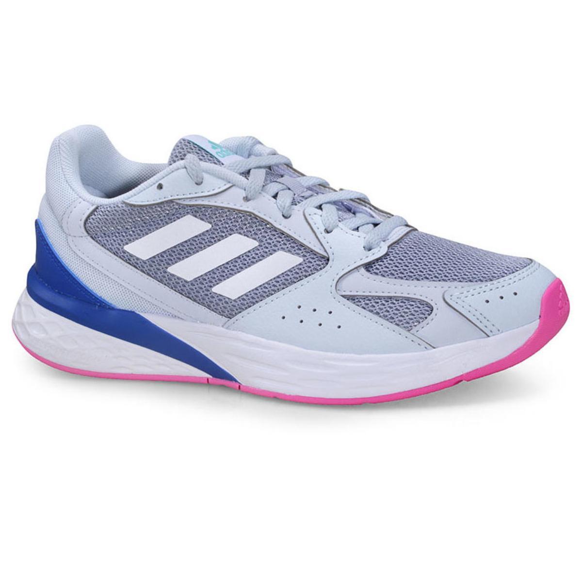Tênis Feminino Adidas Fy9590 Response Classic Azul Claro/rosa