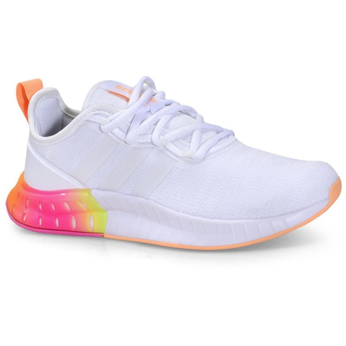 Tênis Feminino Adidas Fz2790 Kaptir Super Branco/color