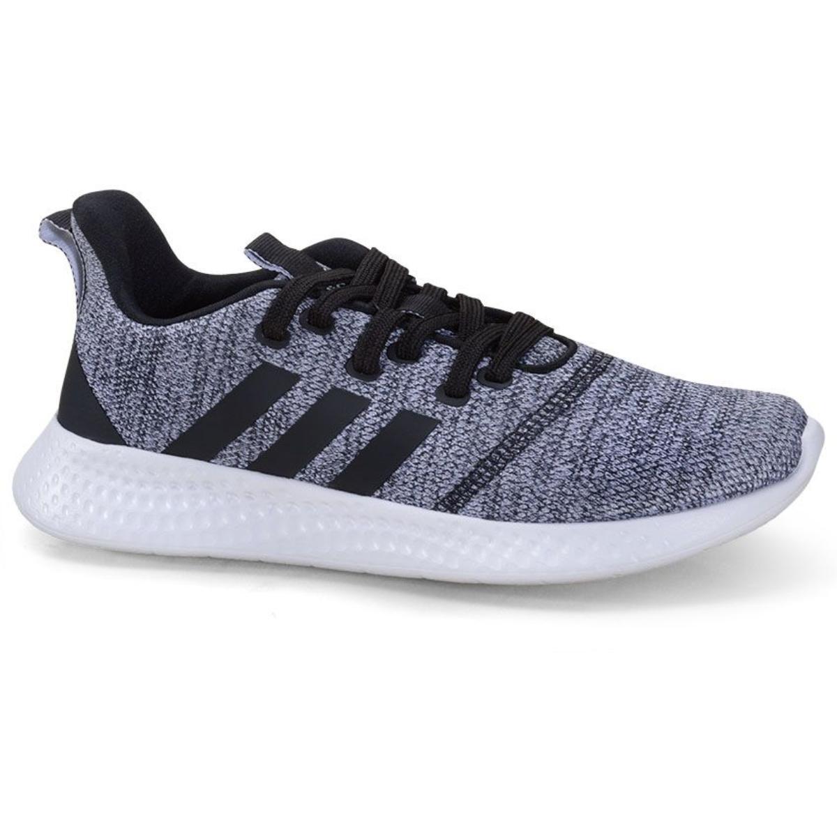 Tênis Feminino Adidas Fy8222 Puremotion Cinza/preto