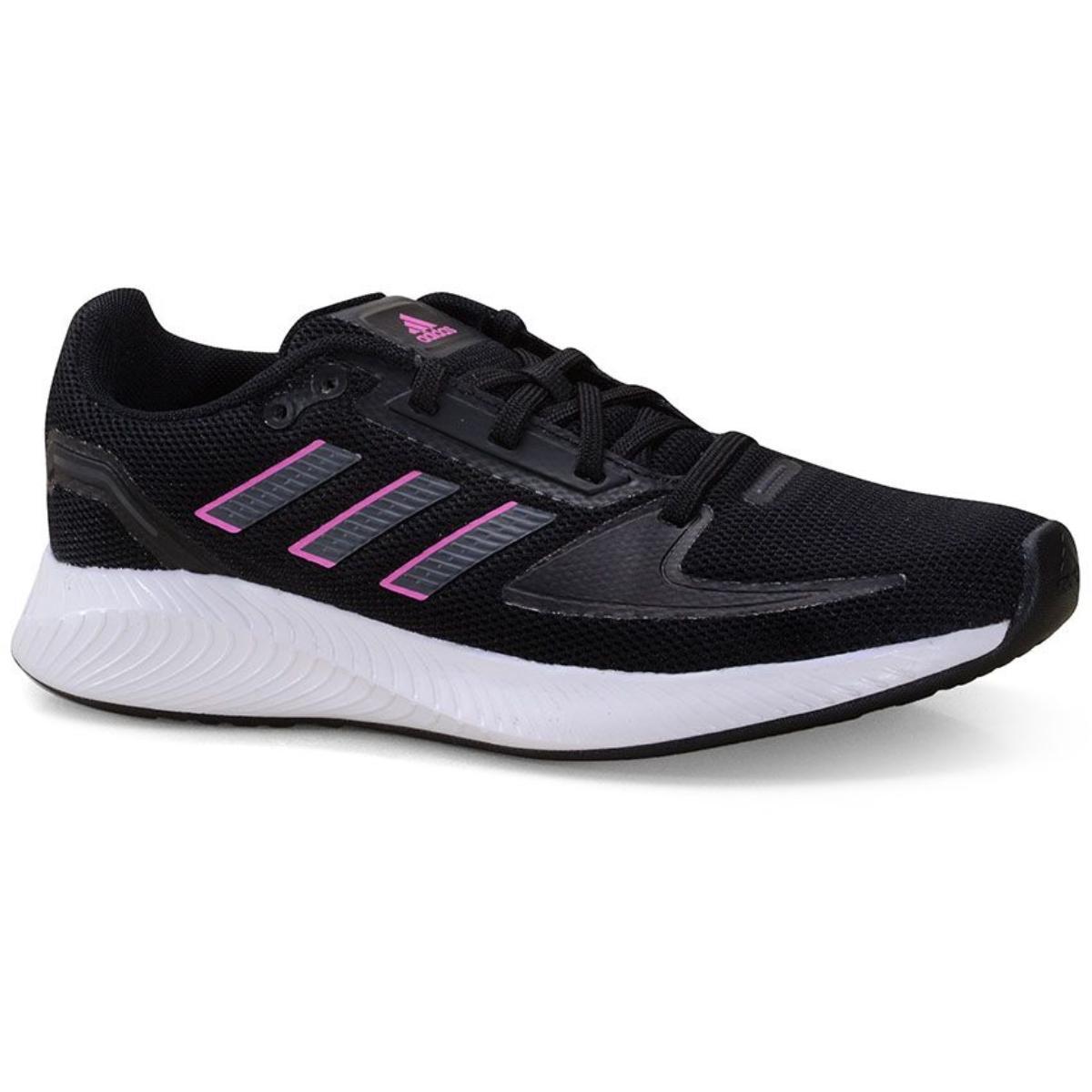 Tênis Feminino Adidas Fy9624 Runfalcon Preto/rosa