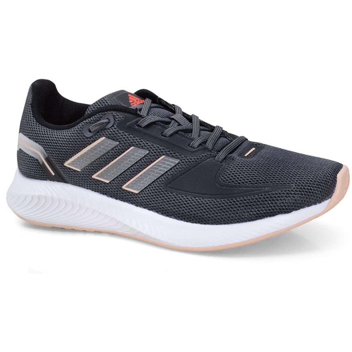 Tênis Feminino Adidas H04519 Runfalcon 2.0 Grafite