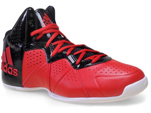 Tênis Masculino Adidas S83992 Pro Smooth Feather  Vermelho/preto