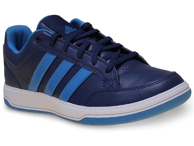 Tênis Masculino Adidas S41856 Oracle vi Str Marinho/azul
