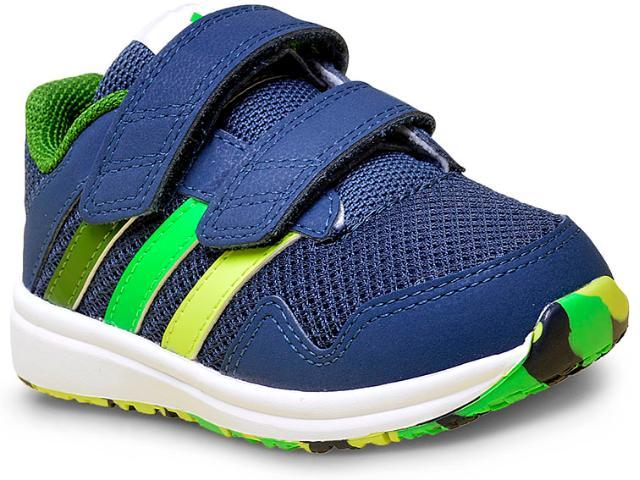 Tênis Masc Infantil Adidas Af4358 Snice 4 cf Marinho/verde