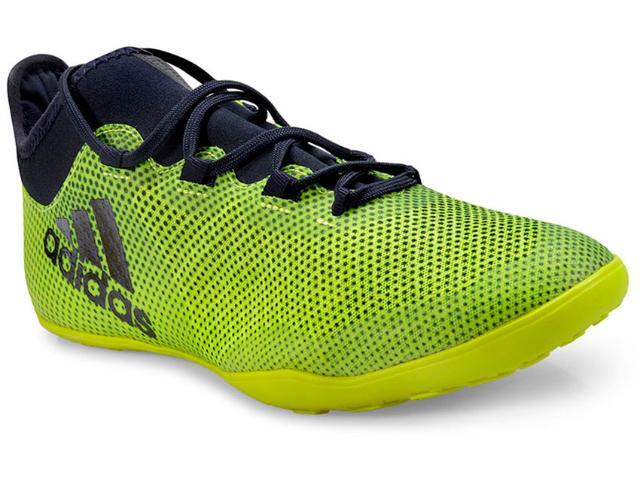Tênis Masculino Adidas Cg3717 x Tango 17.3 Limão/marinho