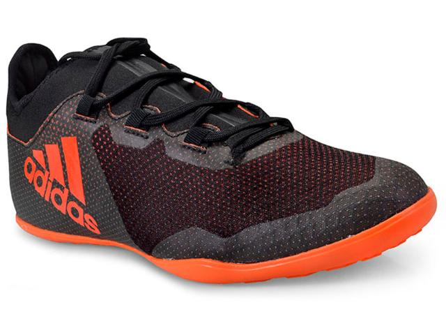 Tênis Masculino Adidas Cg3718 x Tango 17.3 Preto/laranja
