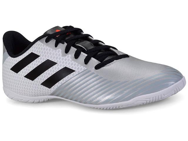 Tênis Masculino Adidas H68549 Artilheira Iii in Prata/branco/preto