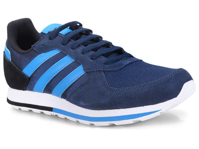 Tênis Masculino Adidas Db1727 8k Marinho/azul/branco/preto