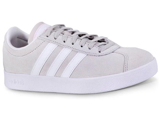 Tênis Feminino Adidas Da9888 vl Court Areia/branco