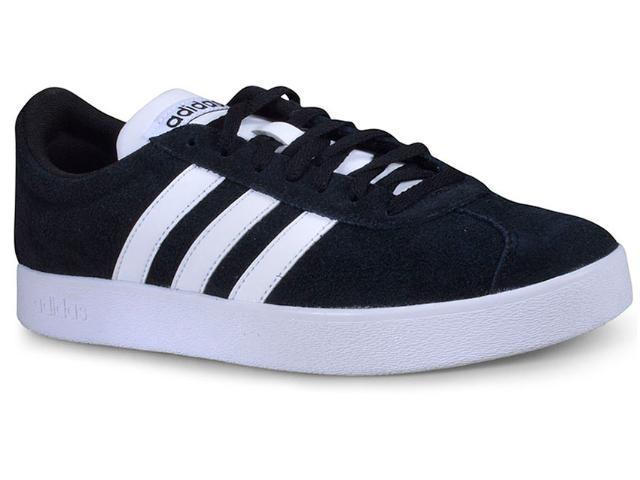 Tênis Masculino Adidas Da9853 vl Court 2.0 Preto/branco
