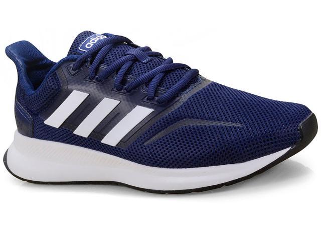 Tênis Masculino Adidas Cl0312 Falcon Marinho/branco