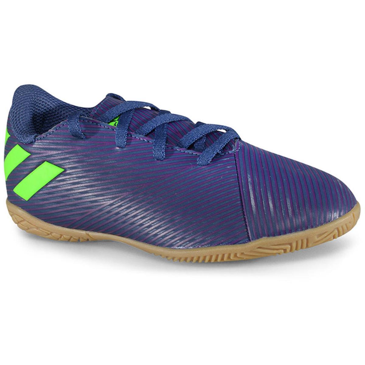 Tênis Masc Infantil Adidas Ef1817 Nmz Messi 19.4 in jr Marinho/roxo/limão