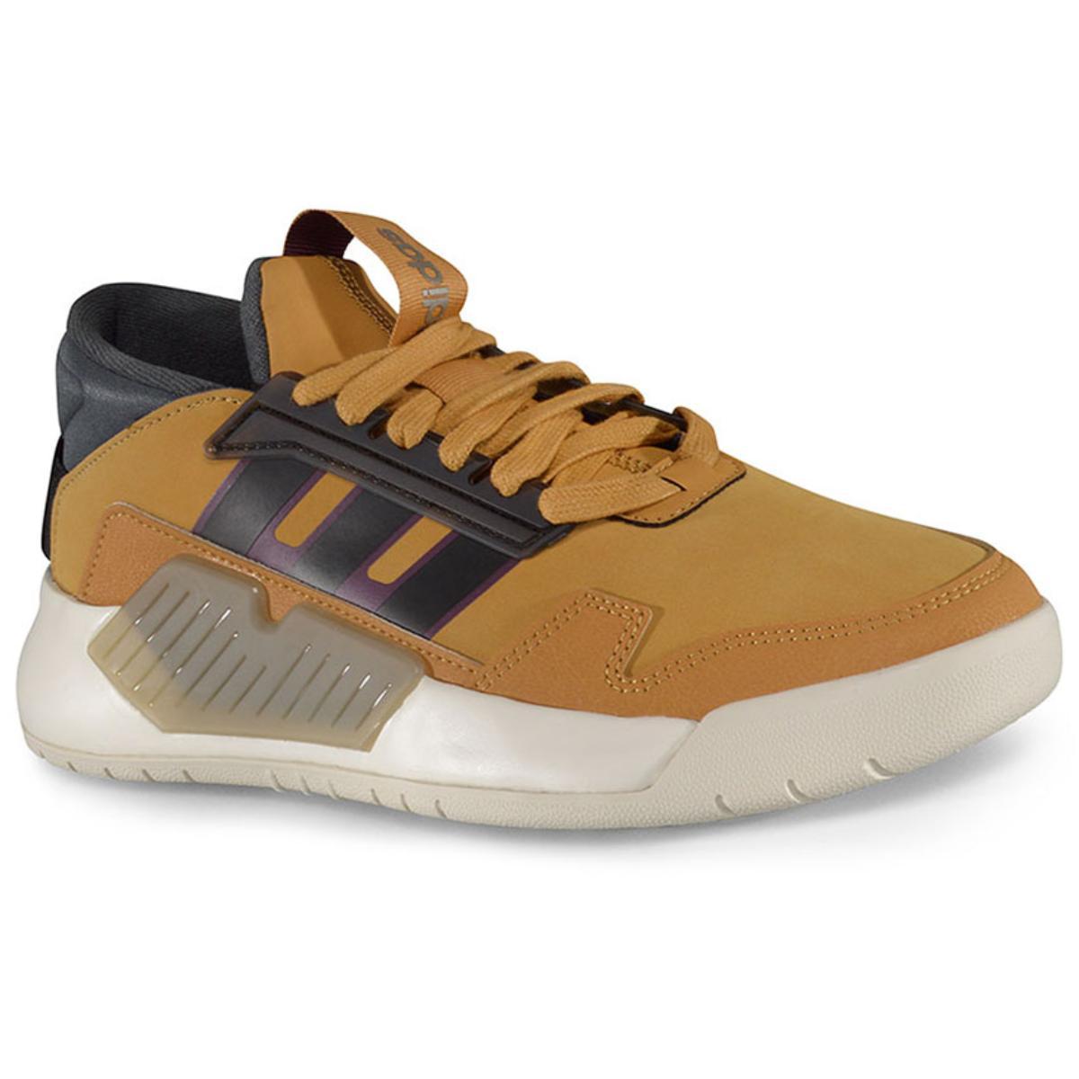 Tênis Masculino Adidas Ef0630 Bball 90s m Mostarda/cinza