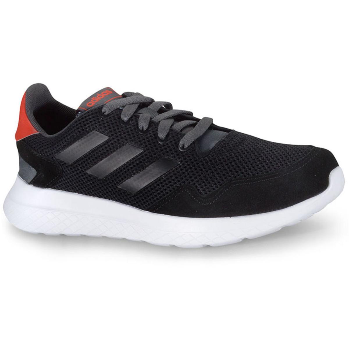 Tênis Masculino Adidas Ef0436 Archivo m Preto/branco