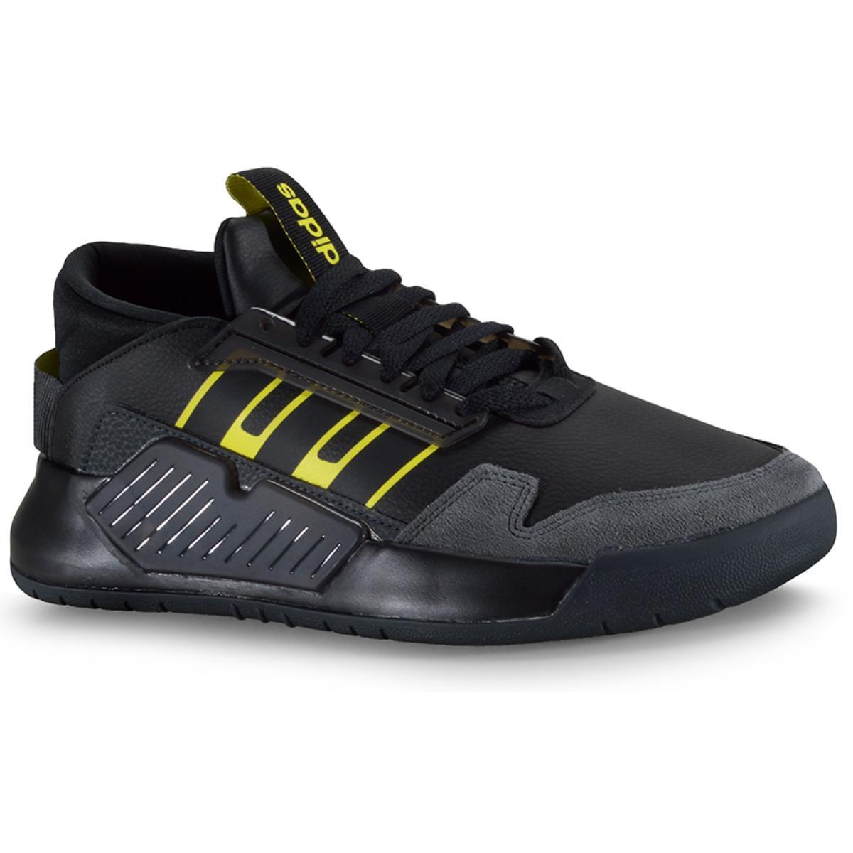 Tênis Masculino Adidas Eg9027 Bball90s m Preto/amarelo