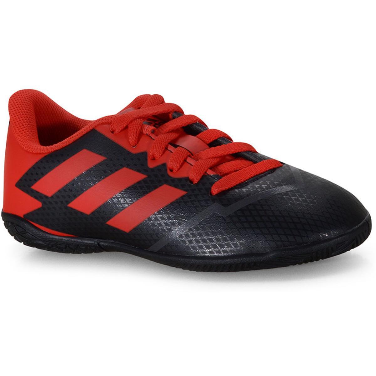 Tênis Masc Infantil Adidas Fv0879 Artilheira iv in jr Preto/vermelho