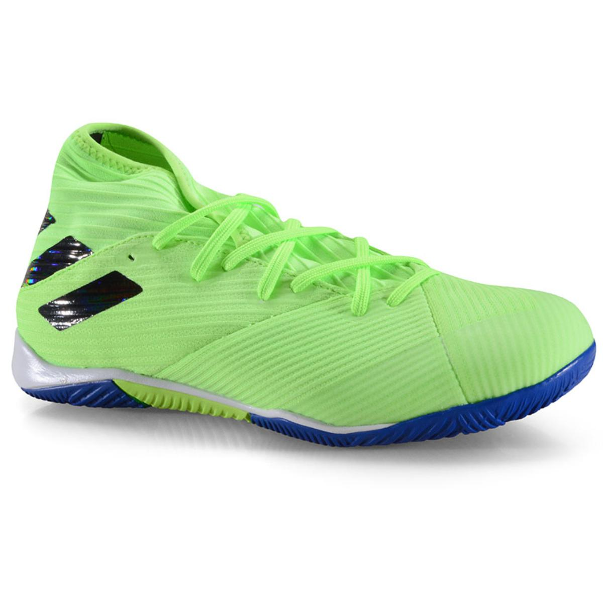Tênis Masculino Adidas Fv3995 Nemeziz 19.3 in Verde Neon