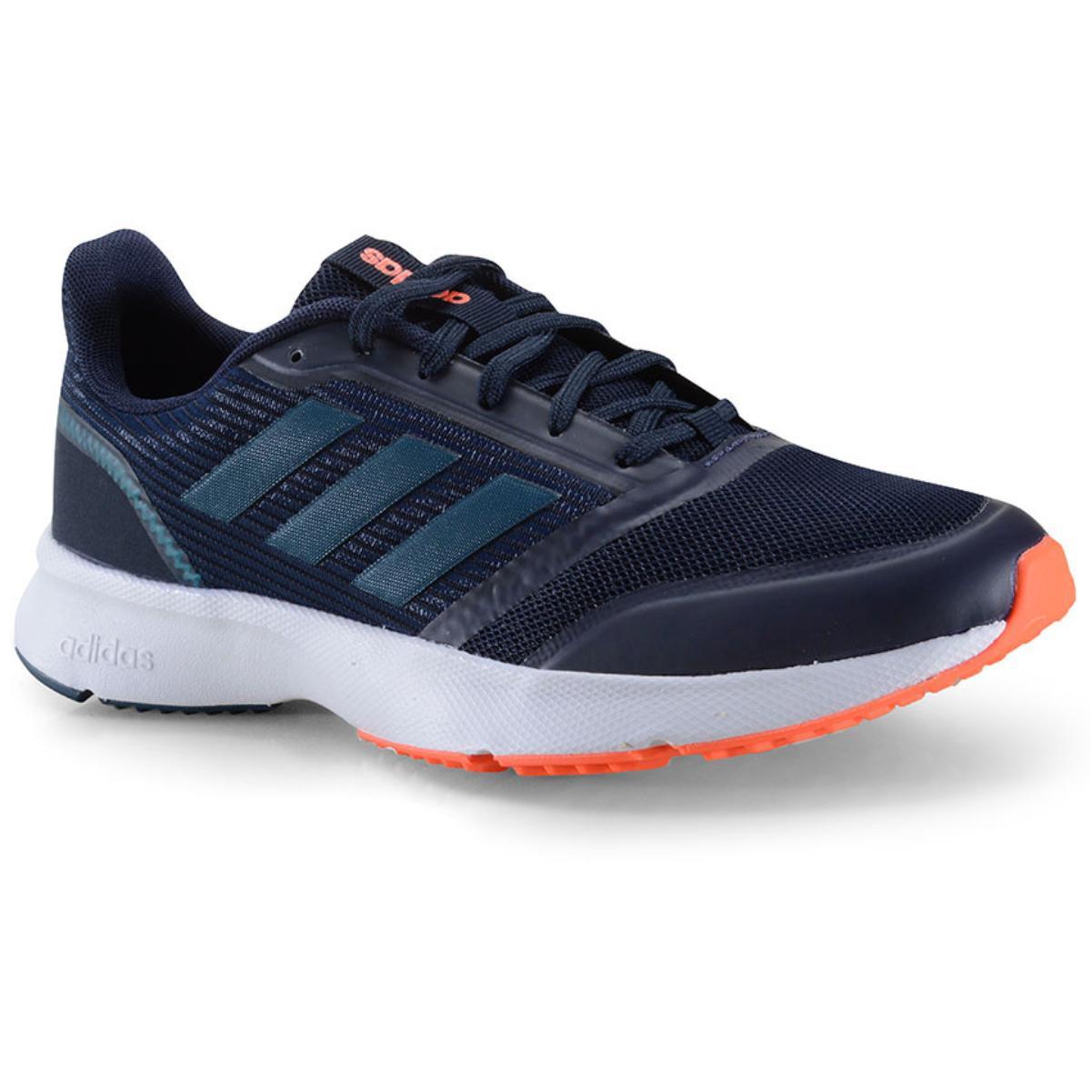 Tênis Masculino Adidas Eh1363 Nova Flow m Azul Escuro