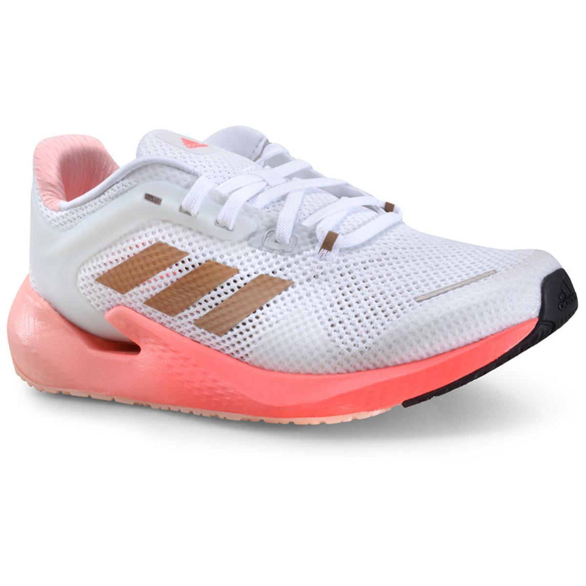 Tênis Feminino Adidas Eg5077 Alphatorsion w Branco/coral