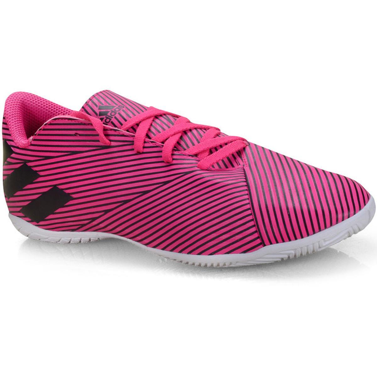 Tênis Masculino Adidas F34527 Nemeziz 19 4 in Pink/preto