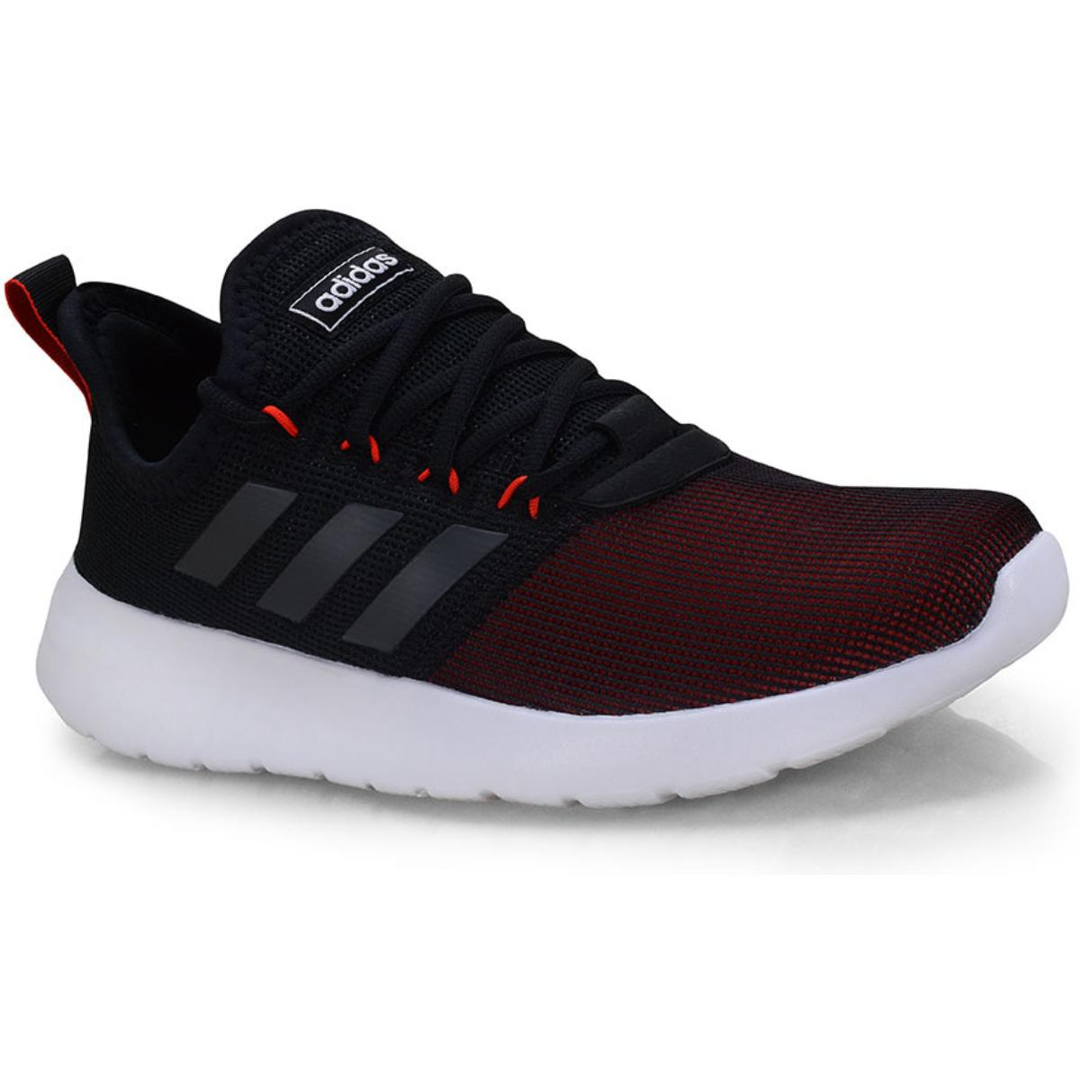 Tênis Masculino Adidas Ee8266 Lite Racer Rbn m Preto/vermelho/branco
