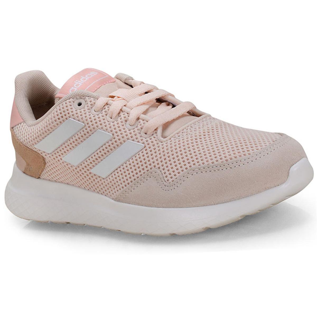 Tênis Feminino Adidas Ef0452 Archivo Pêssego Claro