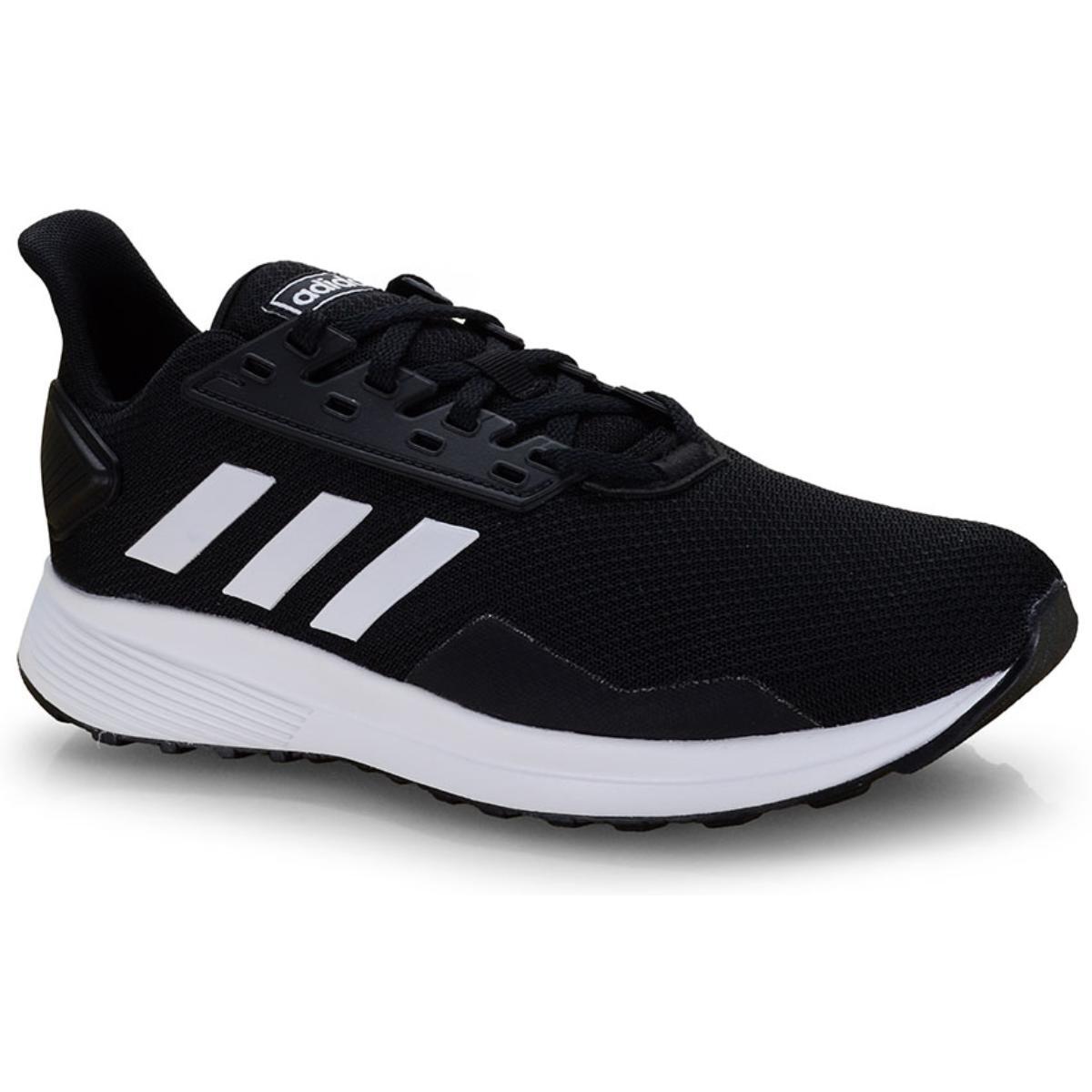 Tênis Masculino Adidas Bb7066 Duramo 9 Preto/branco