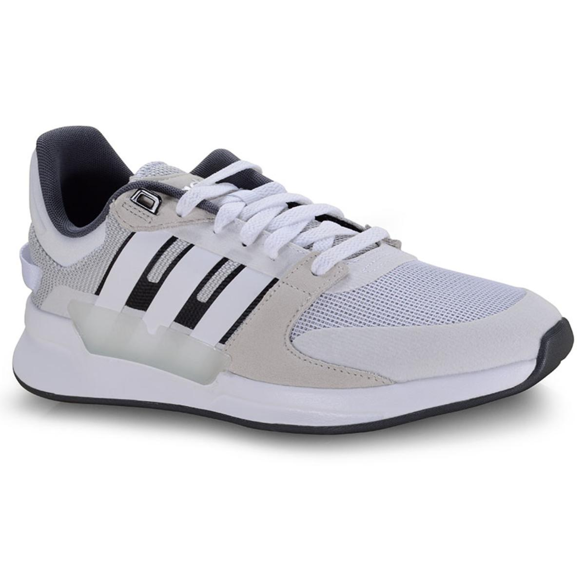 Tênis Feminino Adidas Ef0582 Run 90s Cinza/azul