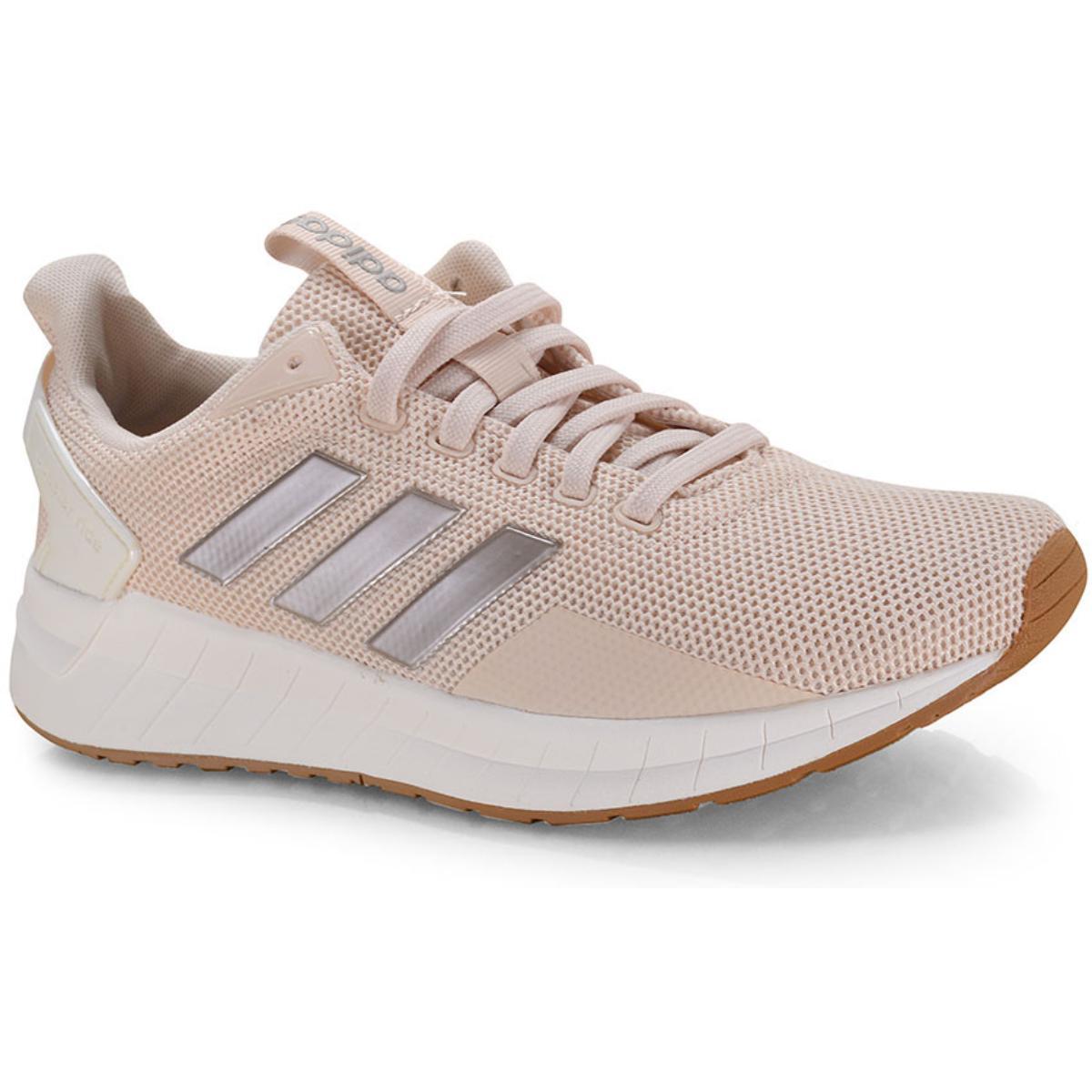 Tênis Feminino Adidas Ee8375 Questar Ride Pêssego Claro
