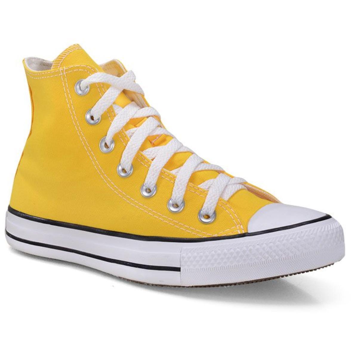 Tênis Feminino All Star Ct00120006 Amarelo